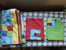 Thomas The Train Engine Handmade Quilt & Two King Size Pillowcases