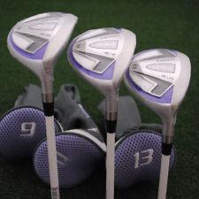 Bullet Golf Womens .444 Fairway High Launch 9&11&13 Wood 3pc SET Ladies NEW
