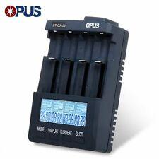 Opus BTC3100 V2.2 Cargador de batería Li-ion de un analizador Probador AA AAA NiMh nos EU UK