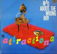 THE ATTRACTIONS mad about the wrong boy FIEND25 A1/B1 LP PS EX/VG ELVIS COSTELLO