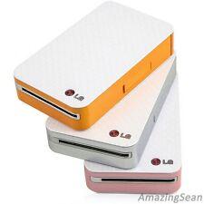 LG Smart Pocket Photo PD221 (Silver, Pink, Orange) Mobile Mini Picture Printer