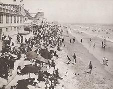 "SEAL BEACH Joy Zone ROLLER COASTER Vintage Photo Print 879 11"" x 14"""