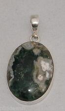 argento sterling ORBICOLARE DIASPRO ciondolo gioielleria no.3152
