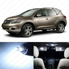 11 x Xenon White LED Interior Light Package For 2009 - 2013 Nissan Murano