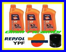 Kit Tagliando HONDA CBR 600 RR 11>12 Filtro Olio REPSOL RACING 600RR 2011 2012
