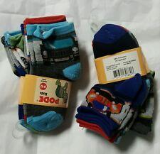 lot of 12 baby boy toddler socks size 0-12m