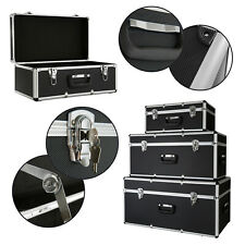 AREBOS 3er Set Tragbarer Transportkoffer Alukoffer Werkzeugkoffer Transportbox