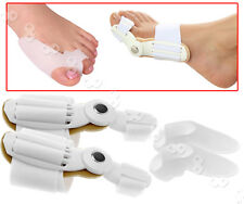 2x Day&night Toe Bunion Splint Hallux Valgus Corrector and GEL Protect Separator