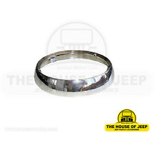 Headlamp Bezel, Fits: CJ-3B, CJ-5, CJ-6, Jeep FC150, FC170 & S/Wagon #649518