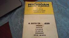 Michigan engine bearings Main Bearings. R2070TK .020 (5070M) (MS1419AL)