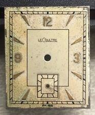 Watch Dial Vintage lecoultre