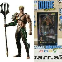 Hiya Toys DC Comics Injustice 2 Aquaman 1:18 Inch Scale Action Figure New