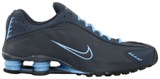 Nike Shox R4 UK 6.5 BLUE TRAINERS VINTAGE RARE 302534 441 2001 RELEASE