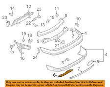 AUDI OEM 10-15 Q7 Rear Bumper-Cover 4L0807819M1RR