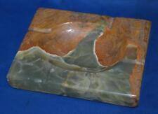 Vintage Green Onyx Marble Ashtray - FREE Shipping [PL3541]
