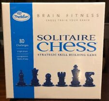 New, Factory Sealed ThinkFun Solitaire Chess Game