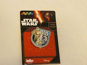 Star Wars crocs jibbitz shoe charm SAP Light side F15 badge card R2D2 CP3O RARE