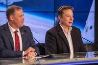 Elon Musk - SpaceX CEO and Lead Designer with NASA Administrator Jim Bridenstine