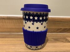 Travel mug Handmade Polish pottery Boleslawiec