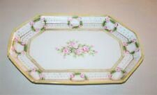 Nippon Hand Painted Porcelain Dresser Tray, Vintage Japan