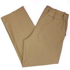 2XLT Nike Pants Athletic Golf Tan Beige XXLT Polyester Spandex Stretch Mens Size