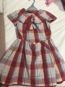 Beautiful Girls Dress From Jessie And James Age 6/7