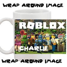 Personalised ROBLOX 10oz Mug Your Name Printed Wrap Around Image