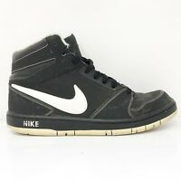 Nike Mens Prestige IV 584614-019 Black Basketball Shoes Lace Up Mid To Size 11.5