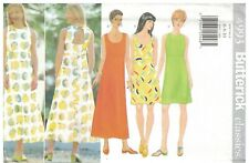 4993 Vintage Butterick Sewing Pattern Misses Summer Spring Dress Uncut Oop Sew