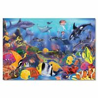 Melissa and Doug Underwater Floor Puzzle - 48 Pieces - 10427 - NEW!