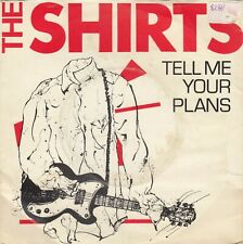 """THE SHIRTS TELL ME YOUR PLANS / CYRINDA 1978 RECORD UK 7"""" PS"""
