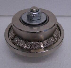 E5 5mm Bevel / Chamfer Diamond Profile Router Bit Stone Granite Marble M14