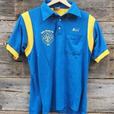 Vtg 1980's Mens Size L Large Polo Shirt Belle Vernon K of C made in Usa