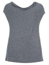 BNWOT Ex Marks And Spencers Grey Cowl Neck Top - Sizes UK 14 - 22