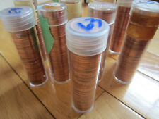 Roll of 1963 Canada Small Cents (UNC RED 50 Coins)