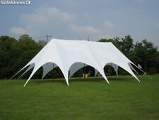 Commercial Wedding Event Graduation Stage Patio Party Triple Star Stretch Tent