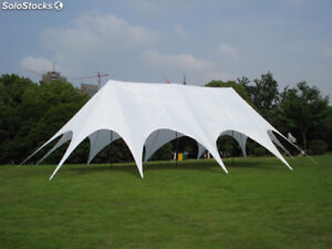Commercial Wedding Event Beach Stage Patio Party Triple Star Stretch Tent