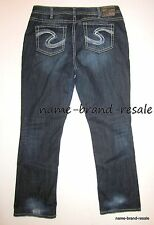 TORRID SILVER NATSUKI Jeans Womens PLUS Size 20 x 33 2X Faded Dark Wash Bootcut