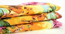 10 Yard Ethnic Indian 100% Cotton Crafts Supplies Sewing Quilting Fabric Hippie