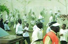 555- CARTE  VATICAN VISITE PAPE JEAN PAUL  II   AU  NIGERIA