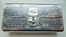 FINE 19TH CENTURY RUSSIAN MOSCOW SOLID SILVER NIELLO TOBACCO PURSE / BOX