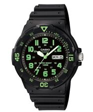 Casio Gents Black Collection 100 Meters MRW-200H-3BVEH Watch. VIOT