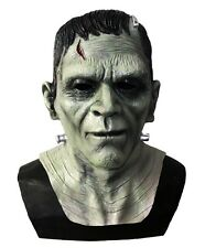 Deluxe Frankenstein Monster Mask Latex Boris Karloff Halloween Horror Fancy Mask