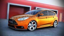 FRONT SPLITTER (TEXTURED) - FORD FOCUS ST MK3 PRE-FACE (2012-2014)