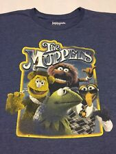 Muppets T-Shirt Sesame Street Henson Puppet Kermit Fozzie Animal Gonzo Large