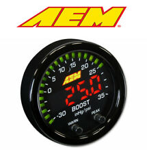 Aem Electronics X-Series Boost Pressure Display Gauge 35Psi/2.5 Bar 30-0306