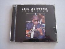 CD DE JOHN LEE HOOKER , BOOM BOOM 10 TITRES . 2000 . BON ETAT .