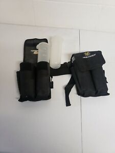 View Loader Paintball Reloaders 2 Pouches Belt and 4 Tubes