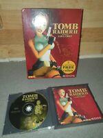 PC CD ROM GAME TOMB RAIDER II 2 STARRING LARA CROFT RARE BIG BOX VERSION