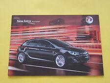 Vauxhall Astra 2009 Brochure Range Highlights